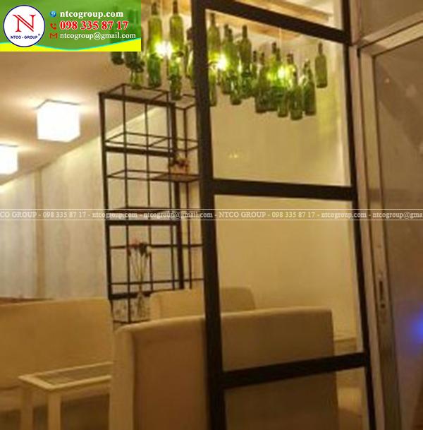 Thiết kế quán trà sữa Kaori tại Cần Thơ đẹp theo phong cách riêng